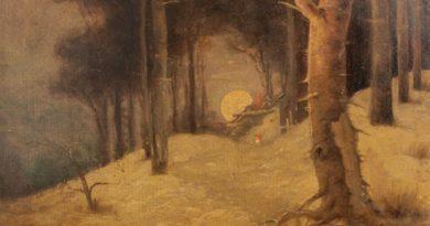 Obraz Pereca Willenberga w zbiorach Muzeum Częstochowskiego